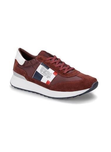 U.S. Polo Assn. Ayakkabı Bordo